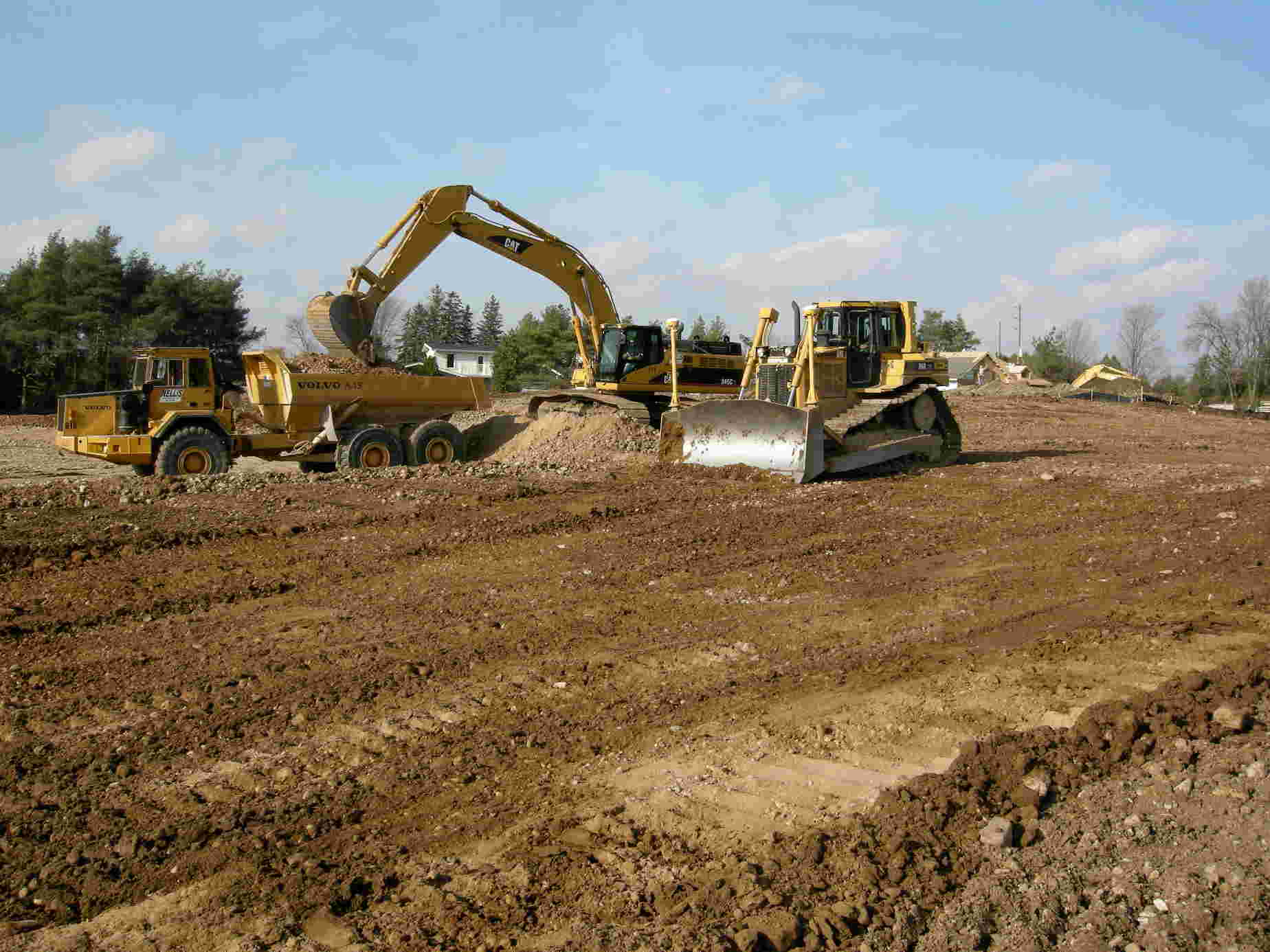 land development tractors